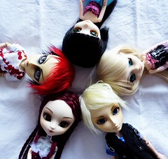Groove Family 2015-05-31 (luxymie) Tags: family queen groove lonely pullip hash arion taeyang barasuishou neoangelique
