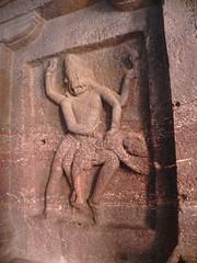 1487. Ellora caves (10) (profmpc) Tags: stone vishnu avatar carving caves ellora narasimha