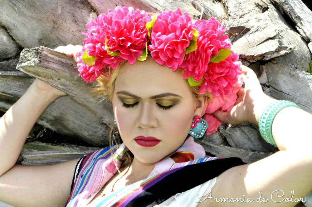 Maquillaje Frida Kahlo 1