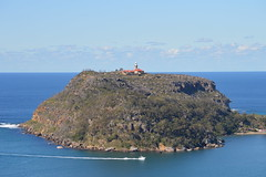 DSC_2316 Barrenjoey Head and Lighthouse. (Boat bloke) Tags: ocean lighthouse beach coast nikon waterfront sydney australia palm barrenjoey d3200