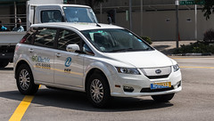 SG RD6133B (rOOmUSh) Tags: auto white car electric singapore research e6 development rd byd