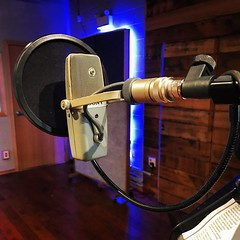 Step Up to the Mic & Sing! (Pennan_Brae) Tags: singing recordingsession recording recordingstudio musicstudio music mic vocals sing sony microphone