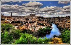 La Ciudad Imperial...Toledo. (Jose Roldan Garcia) Tags: toledo tajo toledano típico río reflejos imperial luz literatura colores cielo historia españa