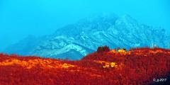Alba infuocata a San Clemente -Leggiuno (papamillo) Tags: leggiuno sanclemente sangiano alba sunset sunrise nikon papamillo prealpi paesaggi panorama panoramica allaperto colori coolpixp520 d inverno w italy italia bellitalia