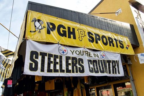 You're In Steelers Country Sign