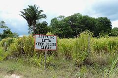 San Ignacio  - Keep Belize Clean