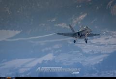 Sion Airport: F/A-18C Hornet (Simone Ciaralli - AirTeamImages) Tags: sion switzerland aviation saimonvolo saimon simone ciaralli olympus zuiko avgeek swissairforce airteamimages