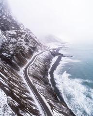 """""""The Artic Big Sur"""" (ArnarKristjans_photography) Tags: iceland coastline shore rain wind clouds tourism snow winter"""