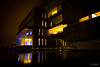 Reflection (photographyzimbo) Tags: 2016 201611 gear mexico puebla sonyalpha7rii when architecturalphotography building camera daytime light longexposure night stilllifephotography streetphotography water haus buildings architecture architecturephotography wasser spiegelung reflections reflection heroicapuebladezaragoza mx