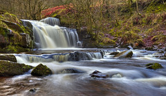 Taybont waterfall (Explored) (Vale Boy) Tags: waterfall talybont water flow vale boy clive rees