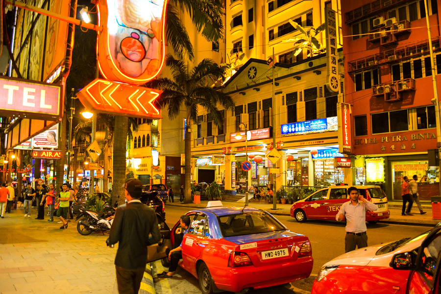 Downtown Bukit Bintang is the shopping and entertainment district of KL
