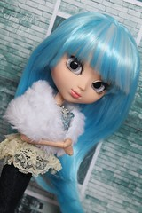 Blue Star ~ (♥gik@h) Tags: pullip blue stella ayla groove doll fashion comic con