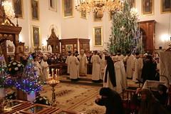 079. Nativity of the Lord at Lavra / Рождество Христово в Лавре 07.01.2017