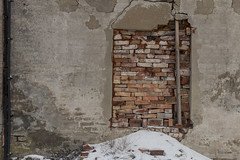 (abare13) Tags: snow lithuania winter architecture klaipeda buildings europe oldbuildings deterioration fallingapart abandoned