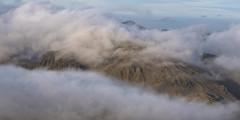 Misty Great Gable (Nick Landells) Tags: greatgable mist cloud temperature inversion napes lakedistrict