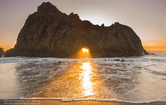The Blessing (hazarika) Tags: keyholearch pfeifferbeach bigsur naturalarch pacificcoast seascape sunset mausamhazarikaphotography