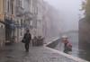 Life Goes On in the Fog (annadelf) Tags: venice fog gondola