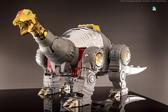 FansToys_Sludge_dino (Weirdwolf1975) Tags: tfylp transformers podcast fanstoys ft06 ft07 sever stomp dinobots sludge snarl masterpiece
