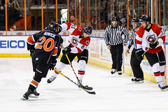 "Missouri Mavericks vs. Cincinnati Cyclones, January 25, 2017, Silverstein Eye Centers Arena, Independence, Missouri.  Photo: John Howe / Howe Creative Photography • <a style=""font-size:0.8em;"" href=""http://www.flickr.com/photos/134016632@N02/32558224735/"" target=""_blank"">View on Flickr</a>"