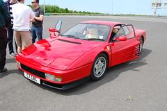 Ferrari Testarossa (D's Carspotting) Tags: ferrari testarossa france coquelles calais red 20100613 c7cns le mans 2010 lm10 lm2010