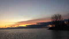 Morning Time IMG_4139 (iloleo) Tags: sunrise toronto iphone ashbridges clouds beach scenic lakeontario nature landscape winter