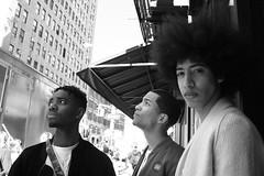Unseasonably Warm (runatail) Tags: runatail blackandwhite monochrome portrait people newyorkcity manhattan soho candid canon5d outside citylife urban streetphotography streetfashion