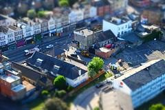 West Hendon (David Allen's Photostream) Tags: london toy miniature fuji fake sample diorama xt1 westhendon