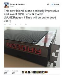 AMD's next-gen GPU teased in picture (GameofBat