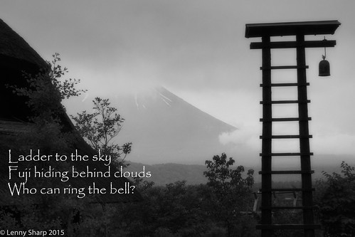"Fuji Bell - Haiku • <a style=""font-size:0.8em;"" href=""http://www.flickr.com/photos/55493827@N04/19187643930/"" target=""_blank"">View on Flickr</a>"