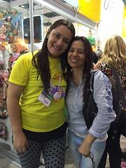 Com a doce Diana Péres!! (vaninha.canhadas) Tags: brasil eva lovecraft amo inlove foamy maestra talentosa dianaperez megaartesanal megaartesanal2015