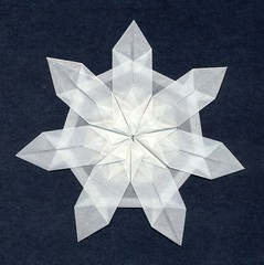 7-pointed snowflake (orig4mi.) Tags: paper origami fold 7pointed