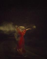 Enchanted (rachelennis2422) Tags: red forest dark dance model moody colours fineart rich dream powder blond dreams dreamy flour enchantment trance reddress enchanted select fairytales jenbrook