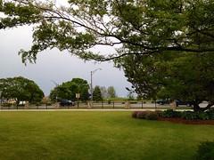 Sun Over Lake Michigan (Lester Public Library) Tags: library libraries lakemichigan lpl librariesandlibrarians 365libs