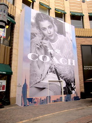 Retail, Coach at The Grove, Barricade Graphics