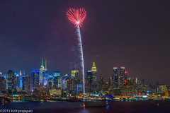 Heart Of New York (kirit prajapati photography) Tags: nyc ny newyork electric night newjersey energy exposure fireworks dream esb empirestatebuilding nycity manhattanny manhattannewyork empirstatebuilding bestskyline 2012fireworks