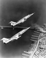Lockheed F-104A 56-0769 [mfr LA 1213 via RJF] (San Diego Air & Space Museum Archives) Tags: lockheedstarfighter f104a aircraft 560769 560781 aviation airplane militaryaviation unitedstatesairforce usairforce usaf lockheed lockheedf104starfighter lockheedf104 f104starfighter f104 starfighter lockheedf104astarfighter lockheedf104a generalelectric ge generalelectricj79 gej79 j79 j79ge3 sanfrancisco baybridge oaklandbaybridge