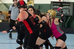 oak_vs_resist_L3500450 1 (nocklebeast) Tags: ca usa rollerderby rollergirls richmond skates bayareaderbygirls badg oaklandoutlaws richmondwreckingbelles va0001991072 effectivedateofregistrationaugust152015 va1991072