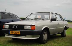 1985 Audi 80 CC 1.6 Diesel Automatic (B2) (rvandermaar) Tags: diesel cc automatic 16 audi 80 1985 audi80 audi80b2 audib2 sidecode7 80b2 33gvj7