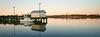 The Dock - Kodak Ektar 100 (magnus.joensson) Tags: usa american north carolina nc wilmington visitusa xpan hasselblad boat 45mm kodak ektar 100 24x65 c41