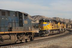 Running meet at El Casco, CA (Travis Berryman) Tags: unionpacific beaumonthill uprr upyumasub desertrailroading