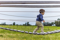 Bridge Challenge (Alvimann) Tags: alvimann canon canoneos550d canon550d canoneos kid kids nio nios boy boys male valentino bridge puente madera wood wooden challenge reto walk walking caminando caminar playing jugando play juego