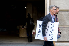 Thank you Obama! (Lorie Shaull) Tags: obama thankyouobama inauguration