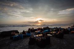 Surf Beach at Sunset in Bali (pictcorrect) Tags: bali sunset echo beach canggu surfers island