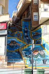 Wall art from Aguilas (RagbagPhotography) Tags: spain costacalida murcia aguilas painting art wall mural