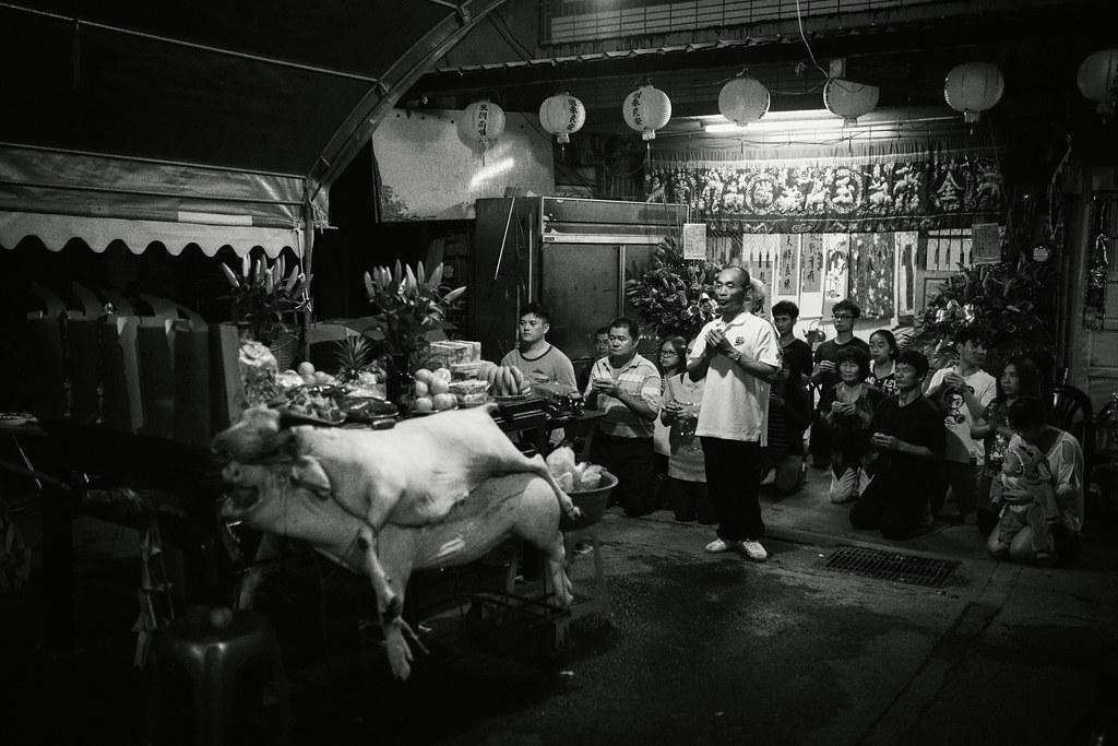 婚攝,婚禮攝影,雲林口湖,民俗傳統,拜天公,儀式,底片風格