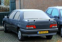 1991 Peugeot 405 GLX (Dirk A.) Tags: sidecode4 onk 1991 peugeot 405 glx zr83lh