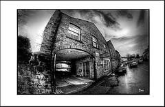 VILLAGE (Derek Hyamson (5 Million views)) Tags: hdr west derby village liverpool fisheye 8mm samyang photo border outdoor