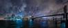 skyline_pacofarero (el_farero) Tags: newyork skyline ny manhattan nightshoot seascape cityscape bridge canon farero clouds night nightcolours river hudson