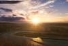 A Cold Sunrise (Sonick Photographie) Tags: lever soleil sun sunrise couleurs colors jaune yellow froid cold lumière light route road nuages clouds vignes vines