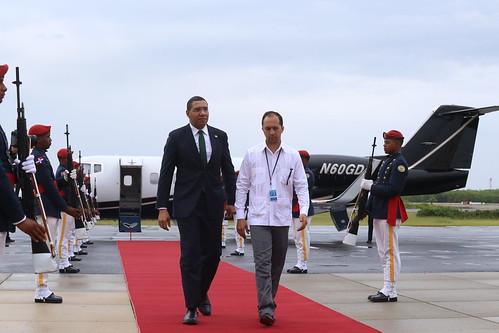 Primer ministro de Jamaica se integra hoy a V Cumbre de la CELAC